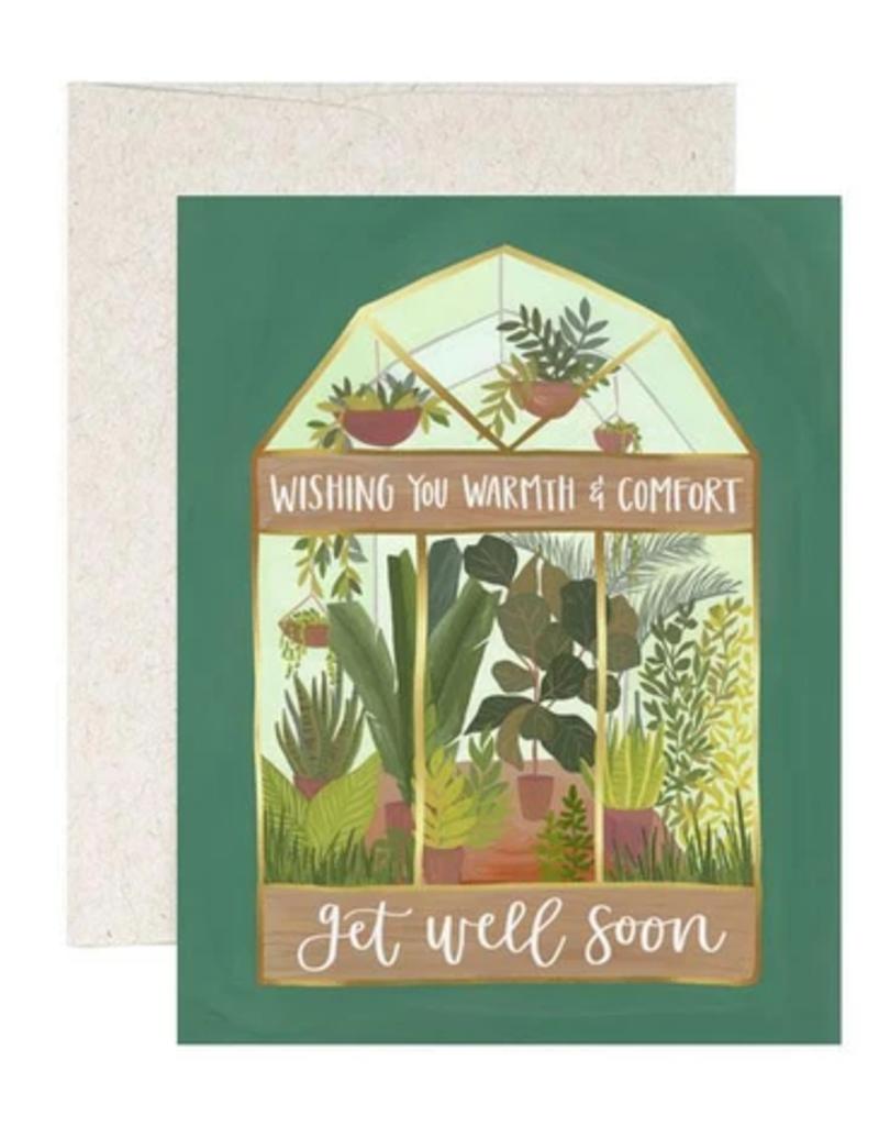 1 Canoe 2 Card Get Well Greenhouse