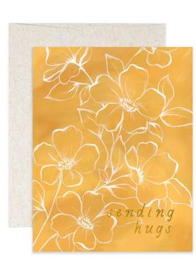 1 Canoe 2 Card Golden Poppy Hugs