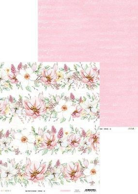 collage 12 x 12 Decorative Paper Spring 02