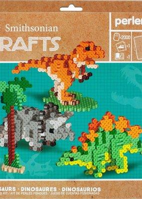 Perler Perler Activity Kit Smithsonian Crafts Dinosaurs