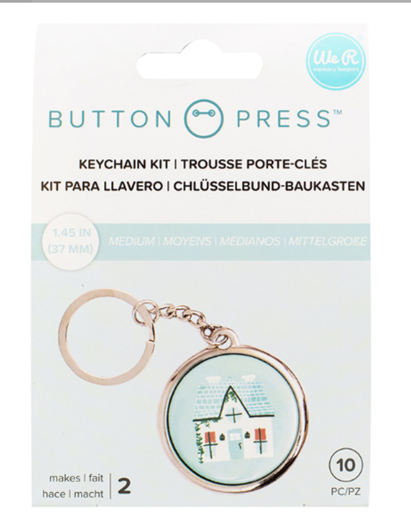 We R Memory Keepers Button Press Keychain Kit