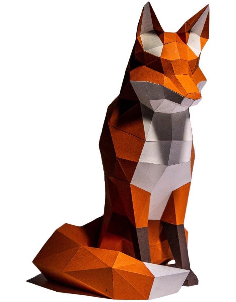 Papercraft World 3D Papercraft Model Kit Fox
