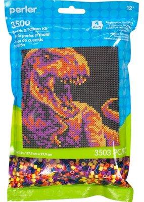Perler Perler Pattern Bag Dinosaur