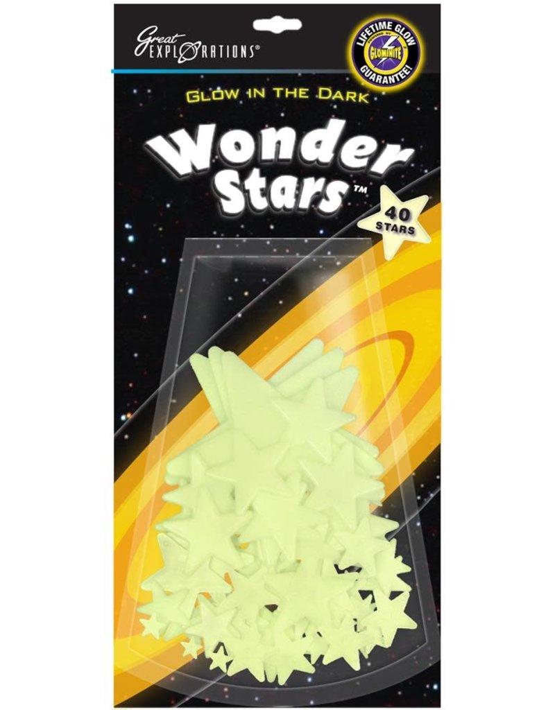 University Games Glow In The Dark Wonder Stars 40 Piece