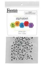 Leisure Arts Alphabet Beads Black & White