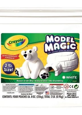 Crayola Model Magic 2 Pound Tub White
