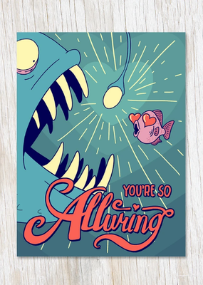 Cognitive Surplus Card You're So Alluring