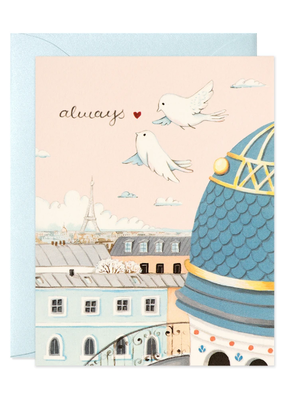 joo joo paper Card Always Paris Rooftops