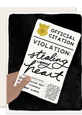 Slightly Stationery Card Love Citation