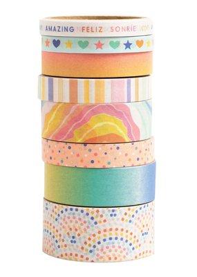 American Crafts Buenos Dias Washi Set of 8