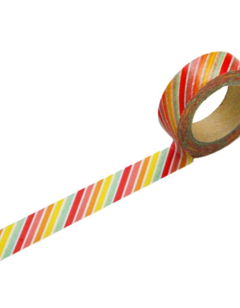 Beve Washi  Tutti Frutti Diagonal Stripe