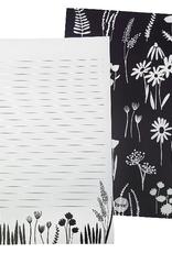 Beve Letter  Writing Set Navy Floral
