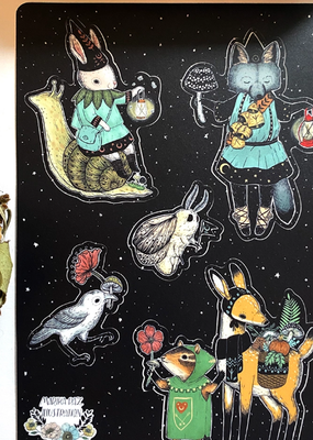Marika Paz Sticker Sheet Dark Mage