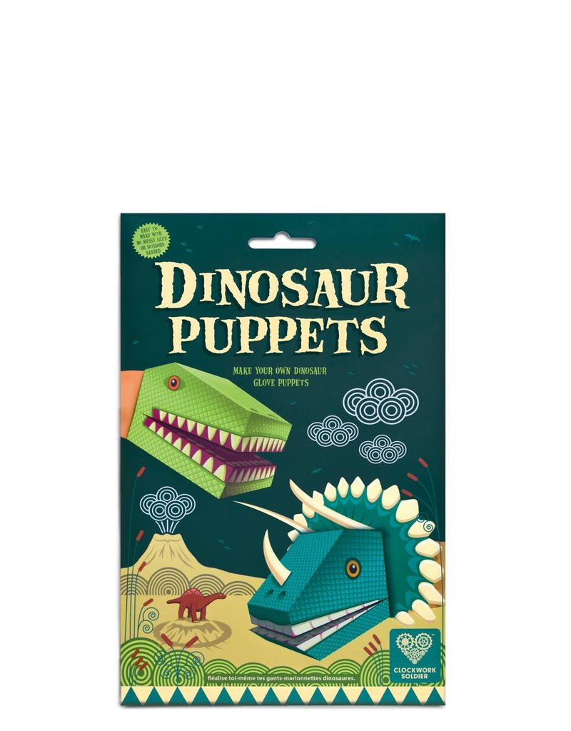 Clockwork Soldier Create Your Own Dinosaur Puppets