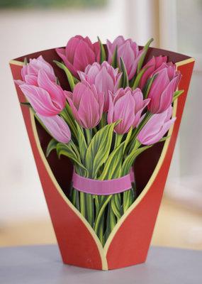 Fresh Cut Paper Fresh Cut Paper Pink Tulips