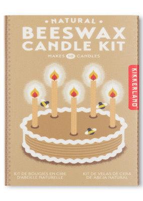 Kikkerland Natural Beeswax Candle Kit