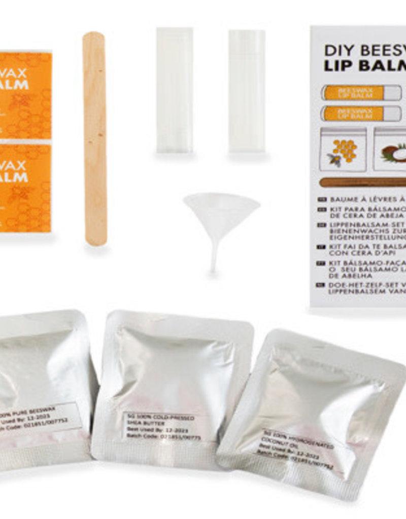 Kikkerland DIY Beeswax Lip Balm Kit