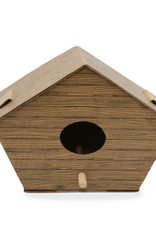 Kikkerland DIY Birdhouse Log Cabin