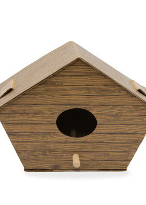 Kikkerland DIY Birdhouse Log Cabin
