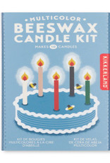 Kikkerland Multicolor Beeswax Candle Kit