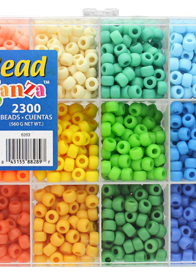 The Beadery Bead Extravaganza Box Soft Pastels