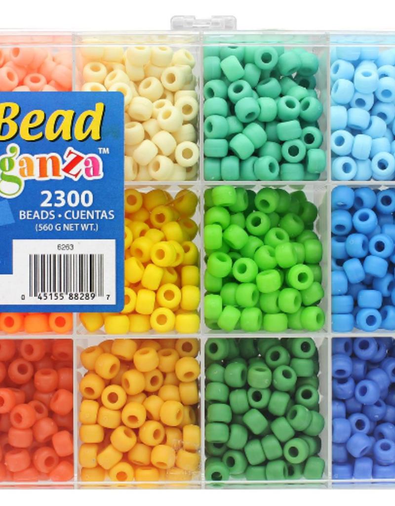 The Beadery Bead Extravaganza Box Soft Pastels