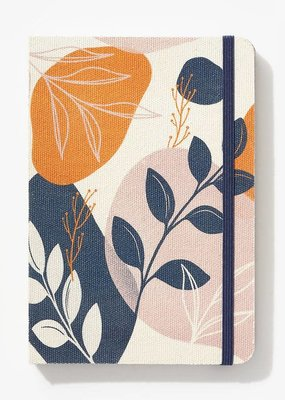 Waste Not Notebook Floral Fabric Covered