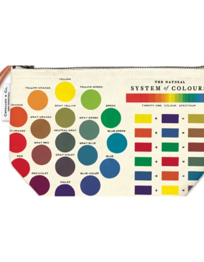 Cavallini Pencil Pouch Color Wheel