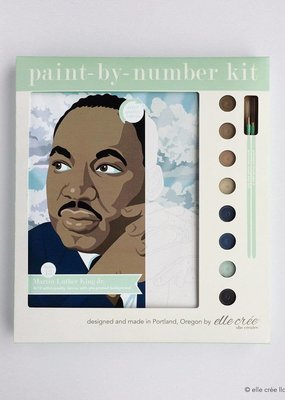 elle cree Paint By Number Kit Martin Luther King Jr.