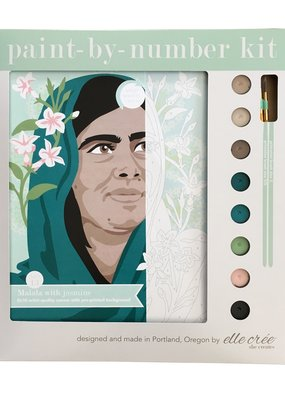 elle cree Paint By Number Kit Malala with Jasmine