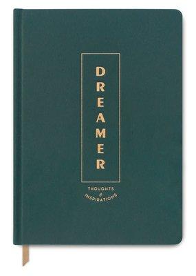 Designworks Ink Journal Green Dreamer Bookcloth