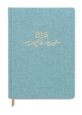 Designworks Ink Journal Big Ideas Seafoam Bookcloth