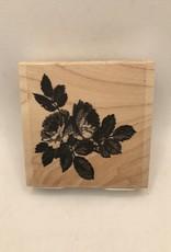 collage Stamp Vintage Rose Bunch