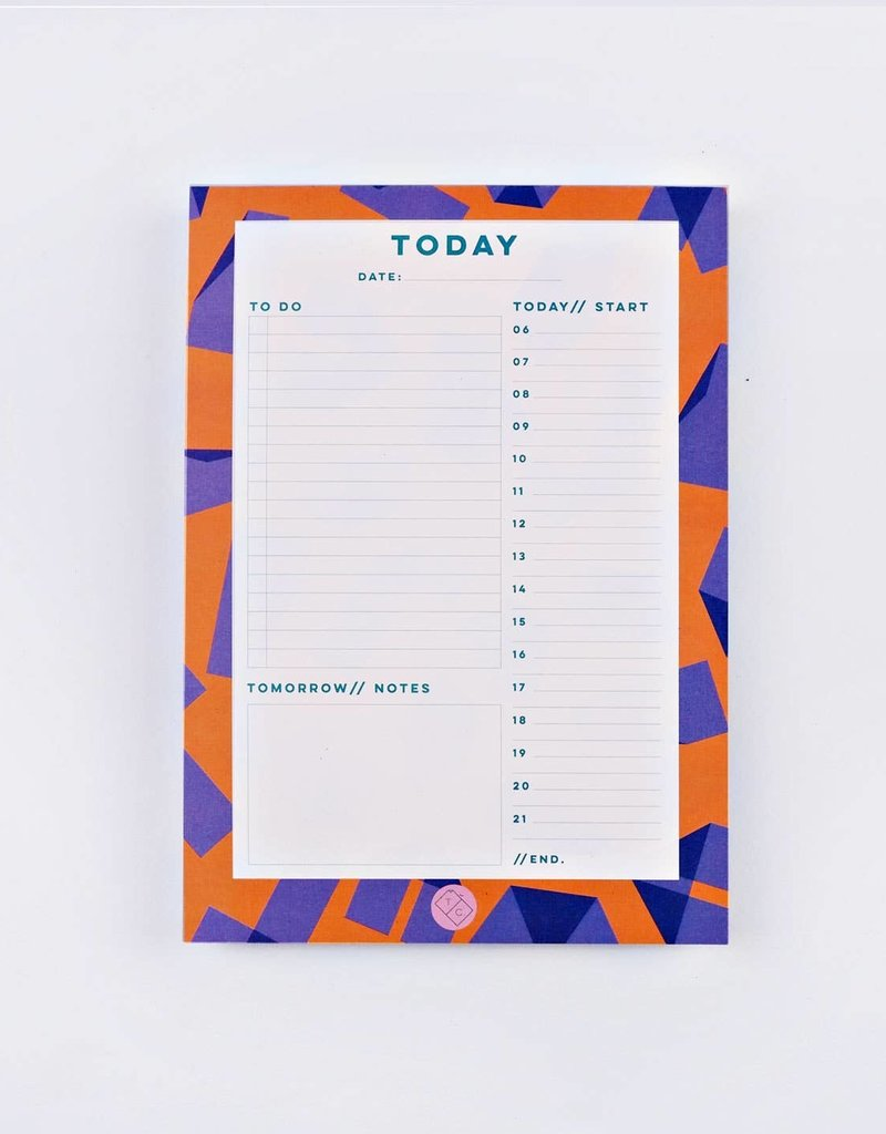 The Completist Daily Planner Pad Origami