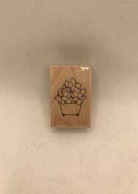 collage Stamp Small Succulent