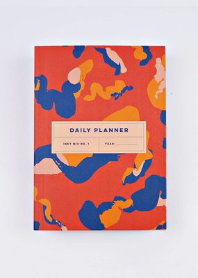 The Completist Lay Flat Daily Planner Inky Mix # 1