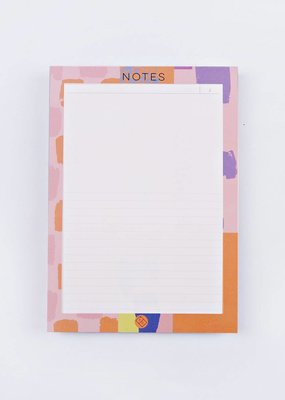 The Completist Notepad Smudge Mix A5