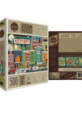 True South Puzzle Kitty City