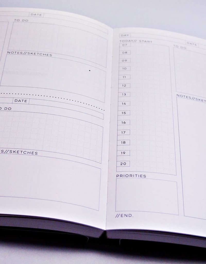 The Completist Daily Planner Book Palette Knife # 1