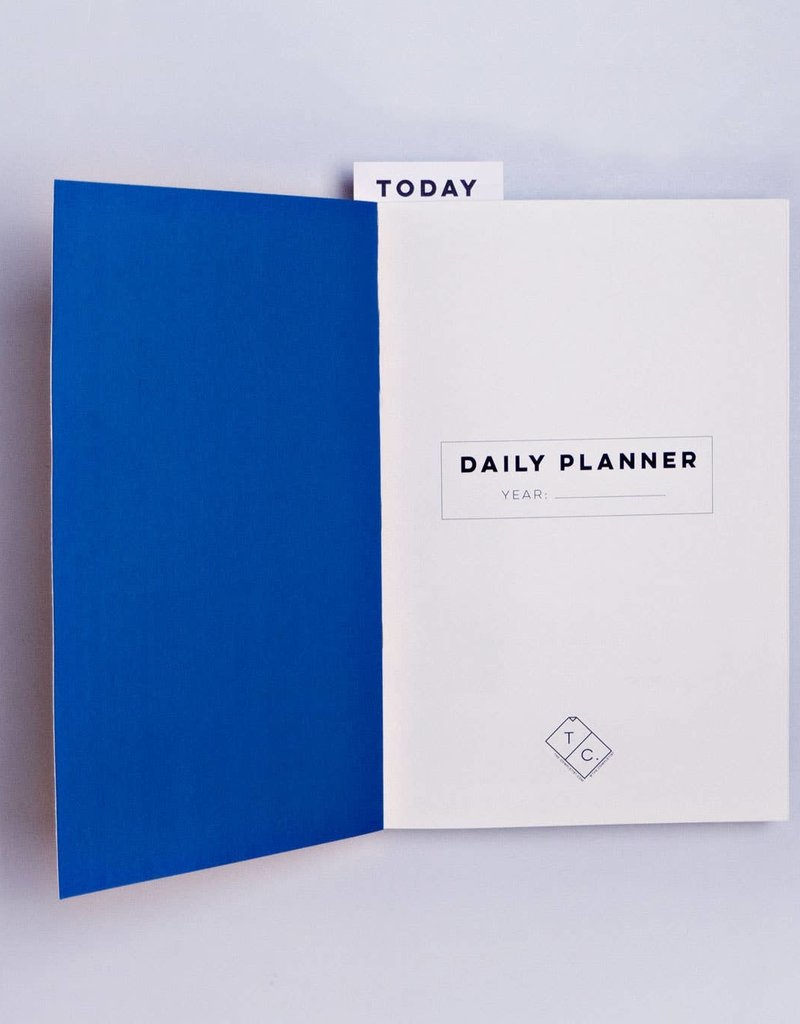 The Completist Daily Planner Book Bookends # 1