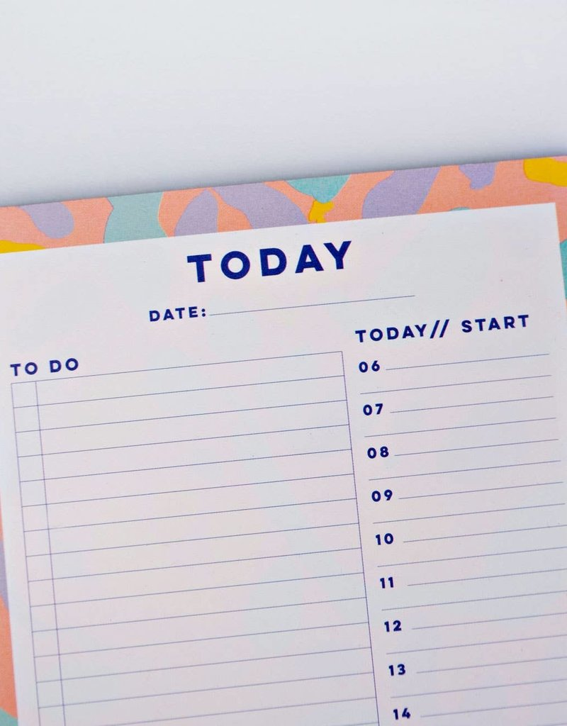 The Completist Daily Planner Pad Inky