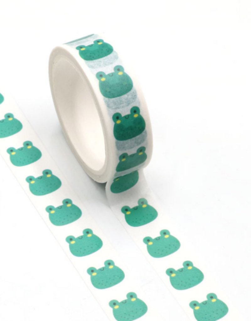 collage Washi Happy Frog