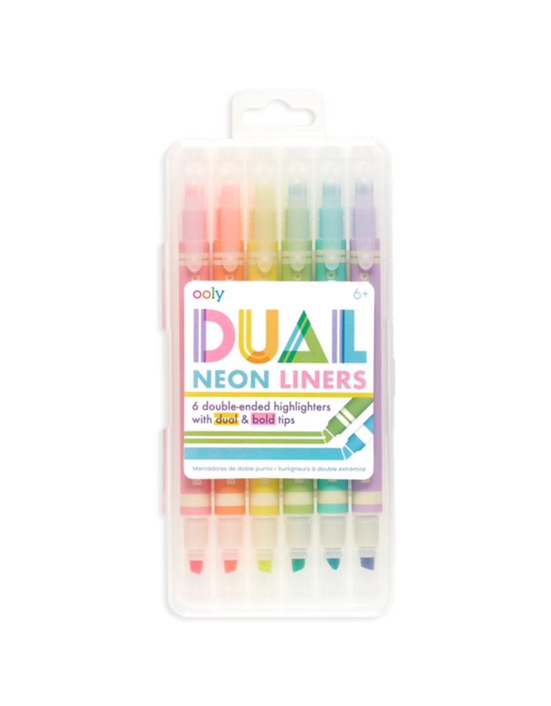 Ooly Dual Liner Double Ended Highlighters