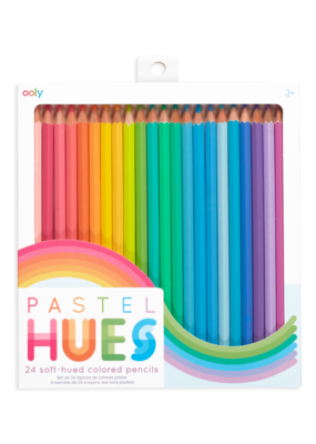 Ooly Pastel Hues Set of 24 Colored Pencils