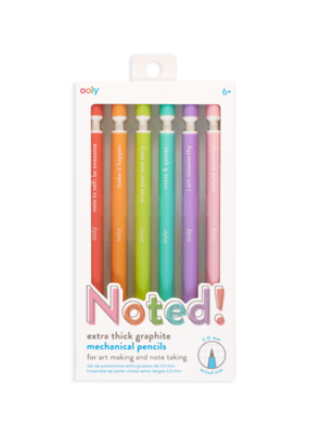 Ooly Noted! Set of 6 Graphite Mechanical Pencils