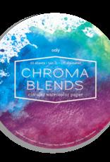 Ooly Chroma Blends Circular Watercolor Pad
