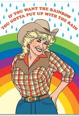 The Found Card Dolly Rainbow