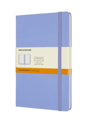 Moleskine Moleskine Classic Hard Cover Ruled Hydrangea Blue Large