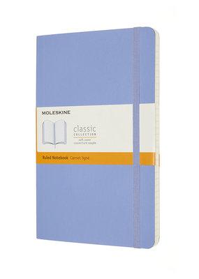Moleskine Moleskine Classic Soft Cover Ruled Hydrangea Large