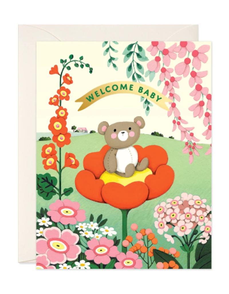 joo joo paper Card Teddy Bear Baby